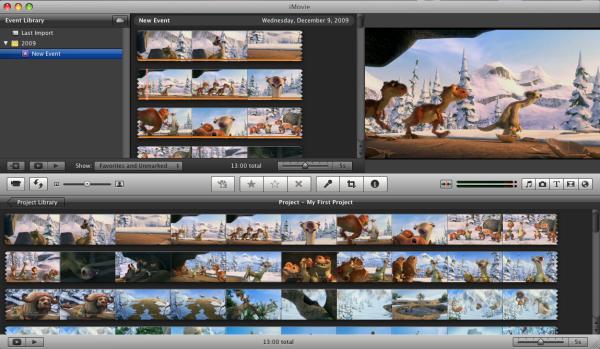 Import DVD into iMovie