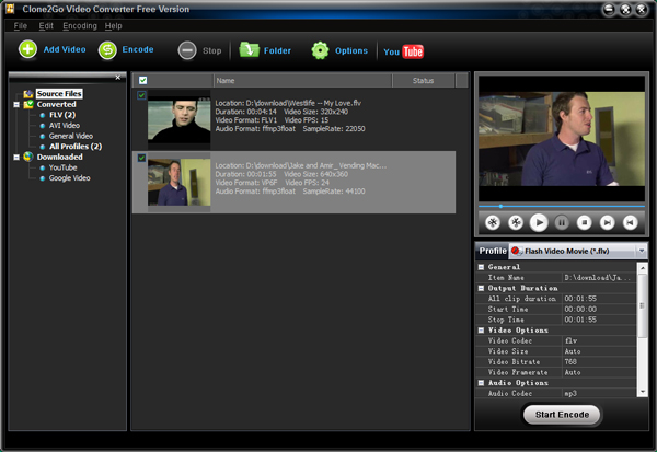 convert iphone video to avi