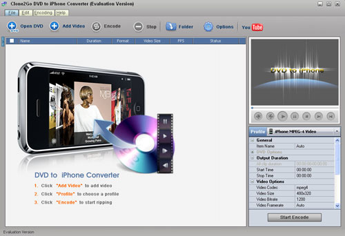 convert DVD to iPhone, convert DVD movie to iPhone 3G