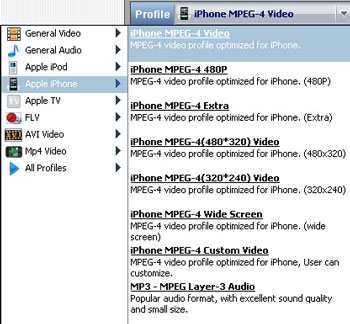 DVD to iPhone converter, convert DVD to iPhone 3G