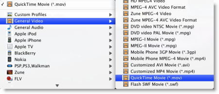 Convert M2TS to MOV on Mac