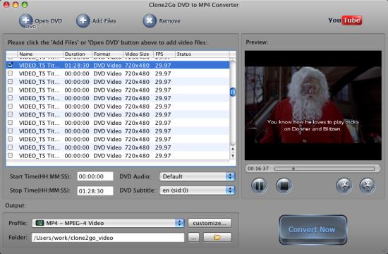 mac video converter dvd to mp4