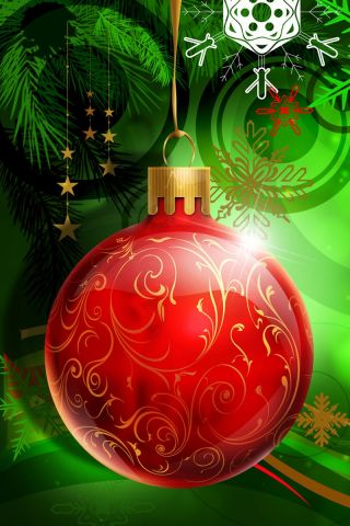 free christmas iphone wallpaper 6