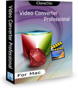 Professional Video Converter for Mac