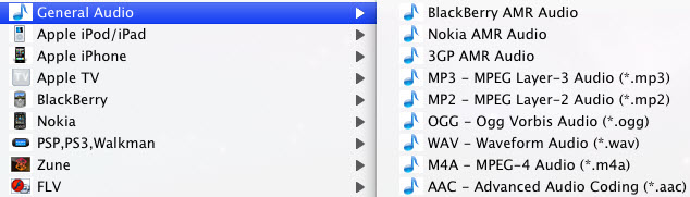 Convert FLV to MP3 on Mac