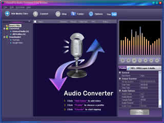Click to view Clone2Go Audio Converter Free Version 2.5.0 screenshot