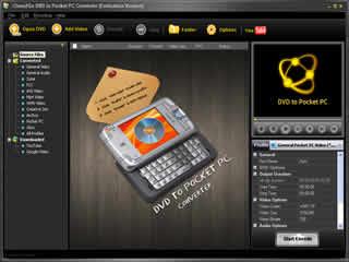 Clone2Go DVD to Pocket PC Converter 1.9.5