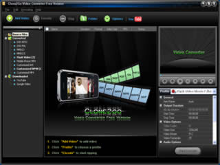Click to view Clone2Go Video Converter Free Version 2.6.0 screenshot
