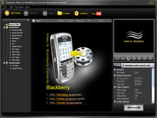 Click to view Clone2Go Video to Blackberry Converter 2.1.0 screenshot