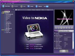 Click to view Clone2Go Video to Nokia Converter 2.5.0 screenshot