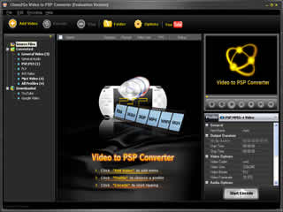 Clone2Go Video to PSP Converter screenshot