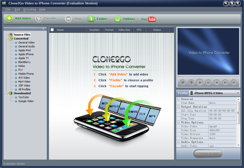 Clone2go video to iphone converter 1.9 2 crack